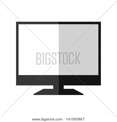 tv television gadget technology icon. Isolated and flat illustration. Vector graphic