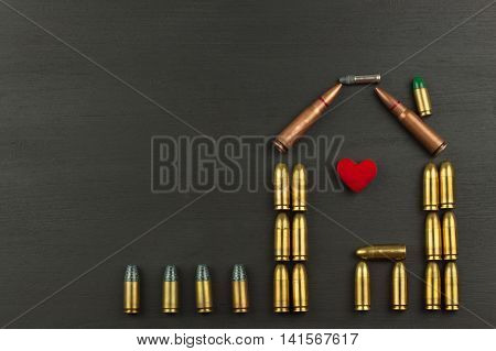 Defending home. Ammunition for defense. The right to defense.