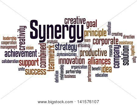 Synergy, Word Cloud Concept 6
