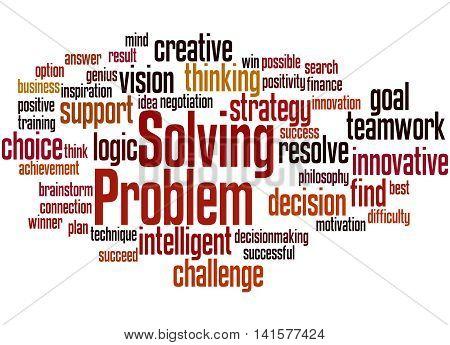 Problem Solving, Word Cloud Concept 5
