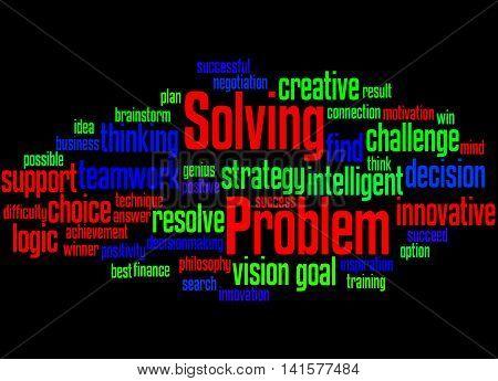 Problem Solving, Word Cloud Concept 3