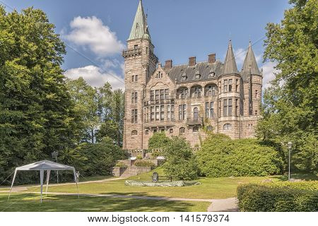 Teleborg Castle in the swedish area of Smaland near to Vaxjo.