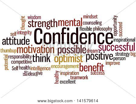 Confidence, Word Cloud Concept 9