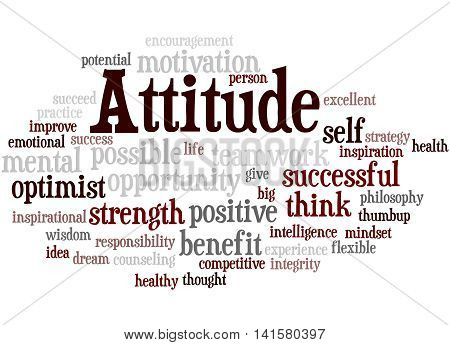 Attitude, Word Cloud Concept 9