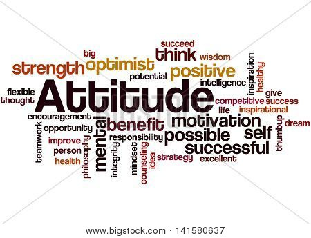 Attitude, Word Cloud Concept 4