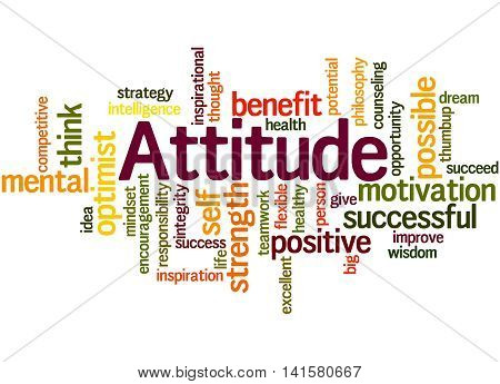 Attitude, Word Cloud Concept 2