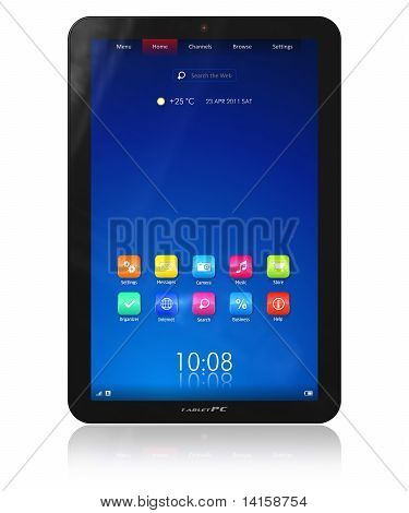 Vertical tablet PC