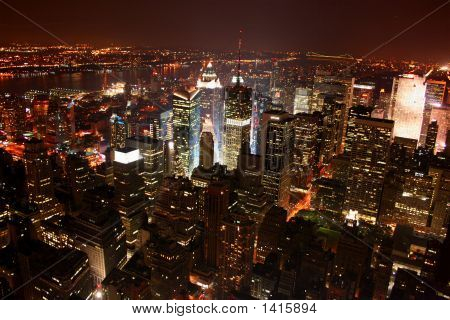 New York City / Manhattan At Night