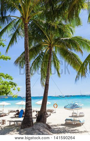Vacation On Tropical Beach