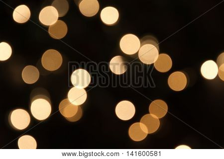 blurred circle xmas light background backdrop image