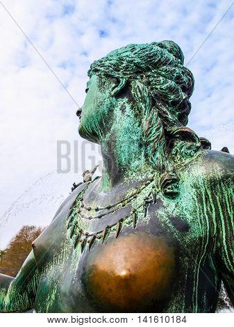 Neptunbrunnen Hdr