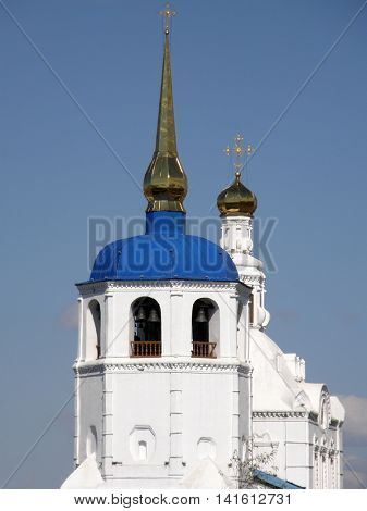 Orthodox Church. St. Odigitrievsky Cathedral. Ulan-Ude. Buryatia. Russia