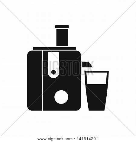 Juicer icon in simple style isolated on white background. Home appliances symbol