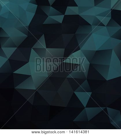 Vector pattern of geometric shapes, color triangle