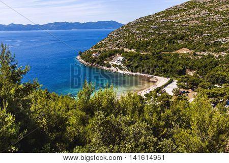Aerial View Of The Beautiful City, Dubrovnik, Croatia