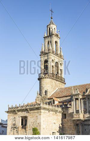 San Juan Bautista parish church (Cathedral) in Hinojosa del Duque, Córdoba, Spain