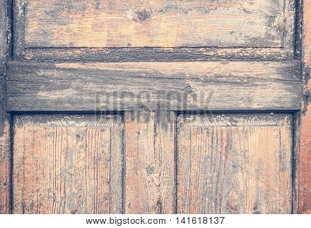 rustic old retro brown wooden textured background