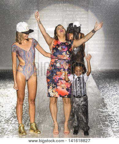 Lila Nikole X Kruzin - 2017 Miami Swim Fashion Week