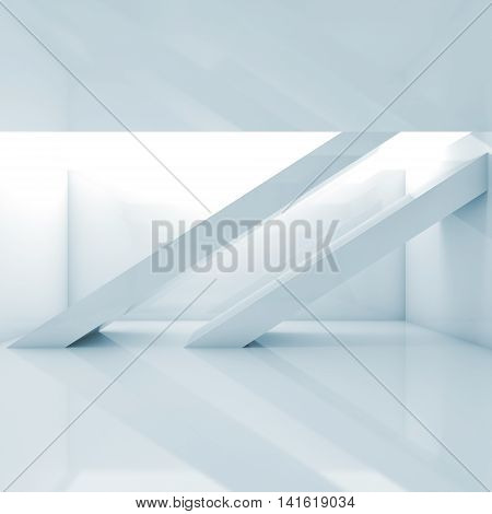 Abstract Interior Background, Empty Room