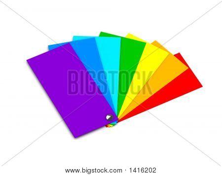 Muestras de Color (Color del arco iris)