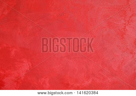 Wall painted in fuchsia color with decoration for a background