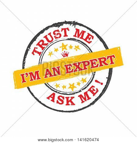 I'm an expert. Trust me, ask me - grunge label. Print colors used.