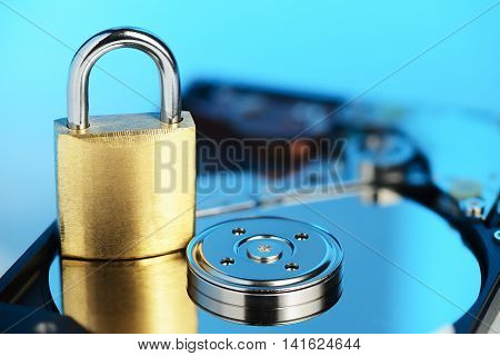Hdd Data Protection Concept