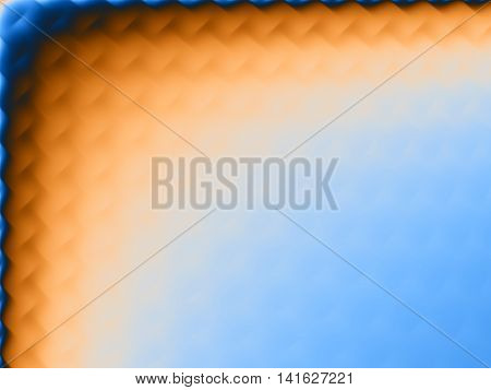 Frame background for ppt template with yellow and blue colors.