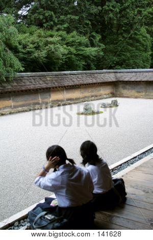 Jardín de la roca de Ryouanji