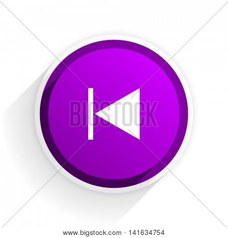 prev flat icon