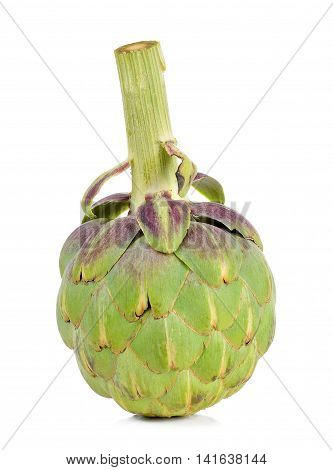 Artichoke Isolated On The White Background