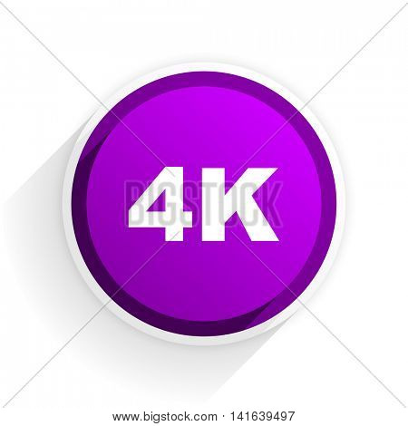 4k flat icon