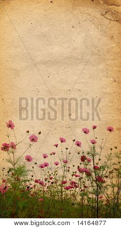 flower paper textures - perfect background with space for text or image