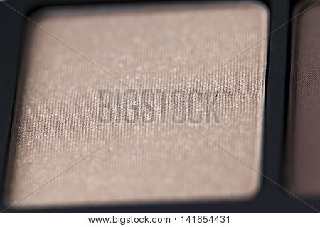 cosmetics for makeup on eyes, eye shadow close-up, small depth of field