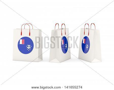Flag Of French Southern Territories On Shopping Bags