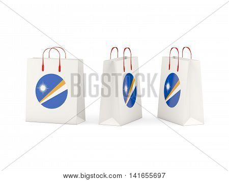 Flag Of Marshall Islands On Shopping Bags