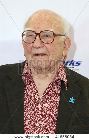 LOS ANGELES - AUG 6:  Ed Asner at the 4th Annual Ed Asner And Friends Poker Tournament For Autism Speaks at the South Park Center  on August 6, 2016 in Los Angeles, CA
