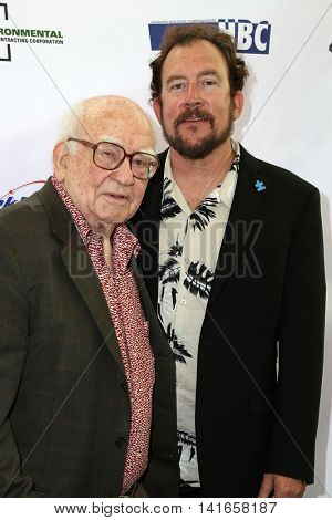 LOS ANGELES - AUG 6:  Ed Asner, Matt Asner at the 4th Annual Ed Asner And Friends Poker Tournament For Autism Speaks at the South Park Center  on August 6, 2016 in Los Angeles, CA