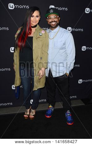 LOS ANGELES - AUG 4:  Urbana Lawrence, Philip Lawrence at the 4Moms launch self-installing car seat at the Petersen Automotive Museum on August 4, 2016 in Los Angeles, CA