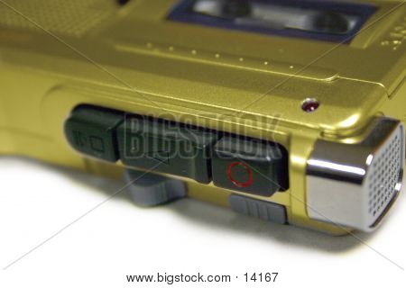 Gold Tape Recorder
