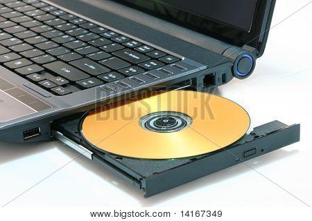 DVD en computadora