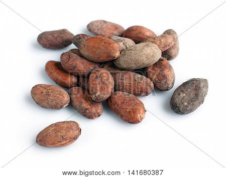 Pile Of Cacao Beans