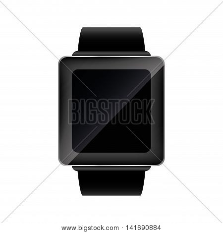 watch wearable technology gadget icon. Isolated and flat illustration. Vector graphic