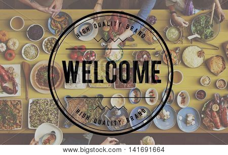 Welcome Hospitality Guest Treat Open Concept