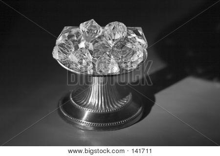 Greyscale Diamond Pedestal