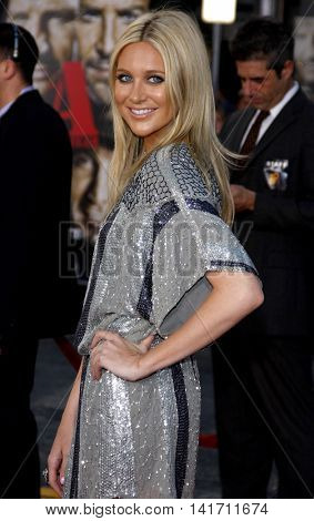 Stephanie Pratt at the World premiere of 'The A-Team' held at the Grauman's Chinese Theater in Hollywood, USA on June 3, 2010.