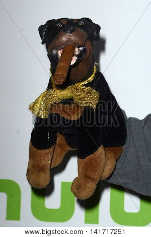 LOS ANGELES - AUG 5:  Triumph the Insult Comic Dog at the HULU TCA Summer 2016 Press Tour at the Beverly Hilton Hotel on August 5, 2016 in Beverly Hills, CA