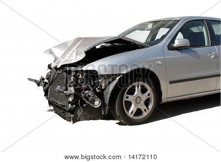 beschädigte Auto