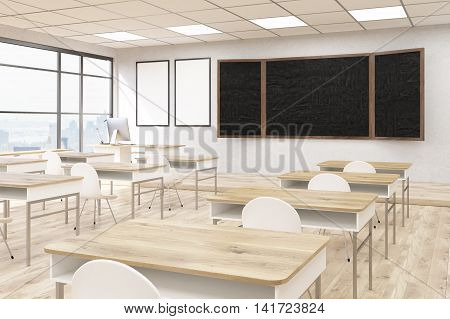 Interior Of Classroom In University