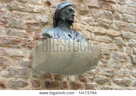 Bust Dante Alighieri